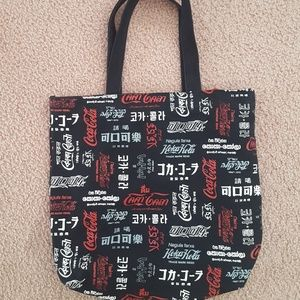Coca Cola in many different languages Canvas Bag